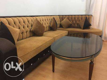 100 BD sofa set with teapoy for sale