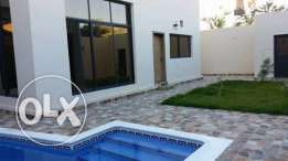 band new villa for rent with pool