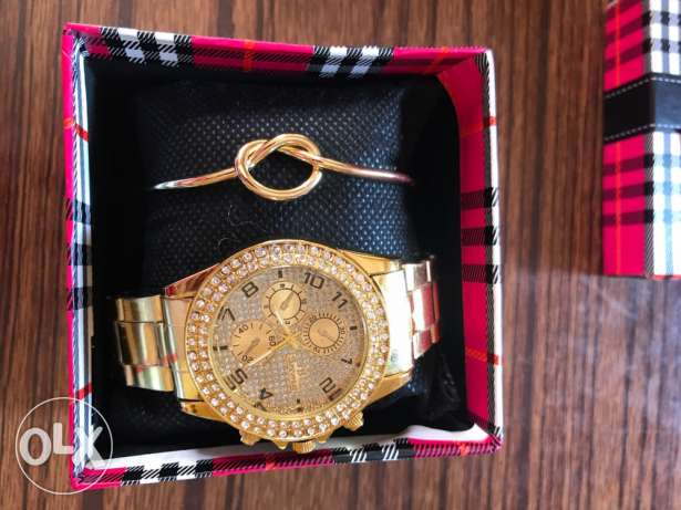 Rolex original watch gold coloured