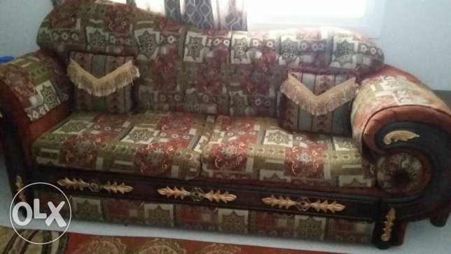 Royal seater sofa set for sale