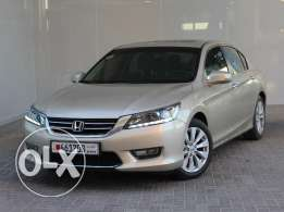 Honda Accord 4Dr 2.4L EXI-B Leather Sunroof Auto 2013 beige For Sale