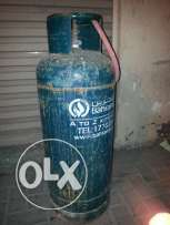 One Bahrain Gas Cylinder with Regulator and pipe.34 BD with Delivery.