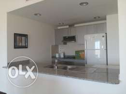 2 bedroom flat for rent in amwaj/hall,open kitch,gym,s.pool