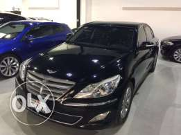 Hyundai Genesis 2013 3.8L warranty+free service to 2018 Full Option