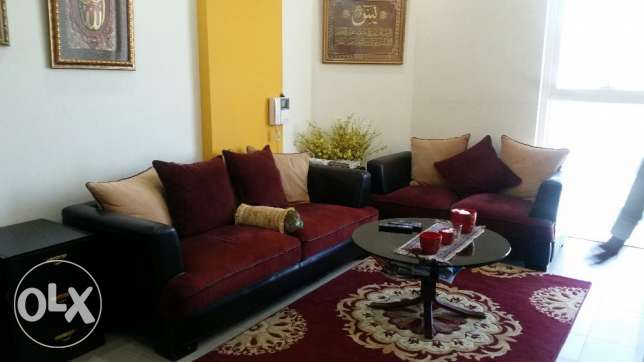 Excellent condition two bedroom furnished apartment in a known tower