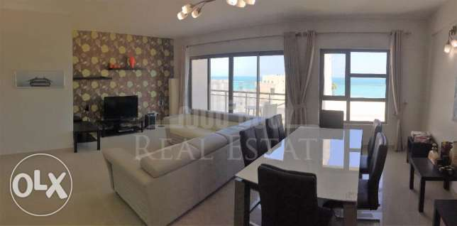 Sea view fully furnished 2BR flat in Tala
