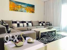 Luxury One bedroom apartment in Zawia-3 . Amwaj-Island .