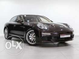 Porsche Approved Panamera S in Mahogany 2014MY