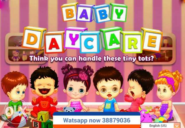 Baby day care at home