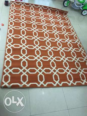 Stain resistant rug