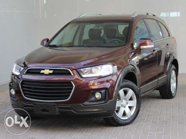 Chevrolet Captiva 2.4L LT 5 seaters 2016 Maroon For Sale