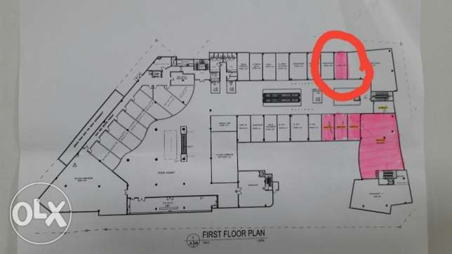 40 mtr sqr shop space for rent at Saar in a reputed Mall BD. 506/-