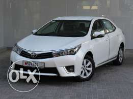 Toyota Corolla Xli 2016 White For Sale