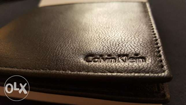 Brand New Authentic Calvin Klein Leather Wallet for Sale