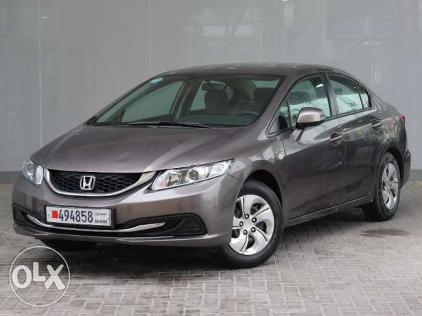 Honda Civic 2014 Grey For Sale