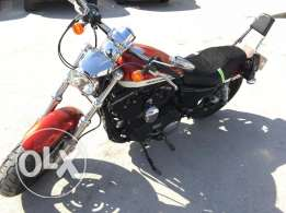 Harley Davidson Sportster XL 2013,1200CC 7000KM for immediate sale