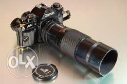 Canon A-1 with Canon Zoom FD 70-150mm, 1:4,5