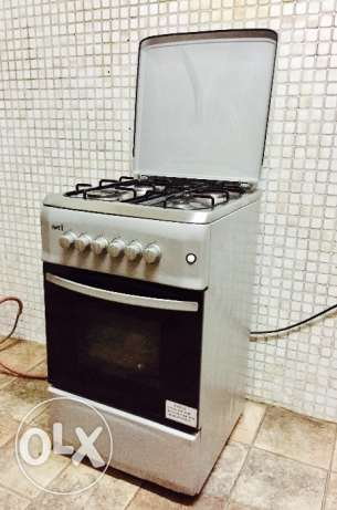 Gas Stove(4 Burners) with Gas Oven