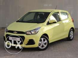Chevrolet Spark LS 2017 Green For Sale