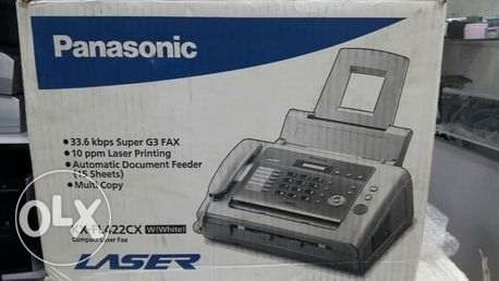 NEW panasonic LAZER FAX telephone copier with 2 Toner free