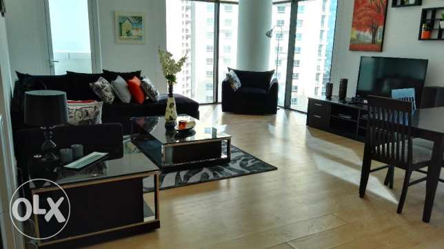 two bedrooms fully furnished apartment for rent