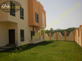 Modern 4 bedroom semi furnished villa for rent in Hamala