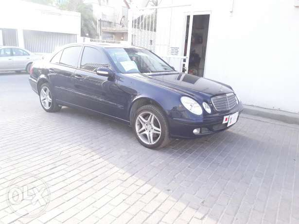 Mercedes E 320 moDel 2003 for sale Now.