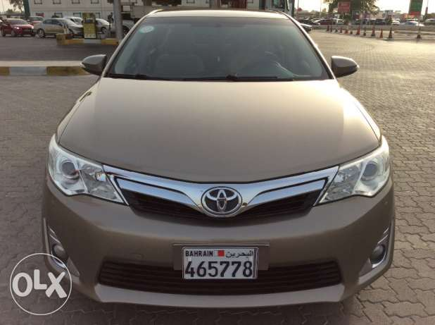 For Sale 2014 Toyota Camry GLX Single Owner Bahrain Agency