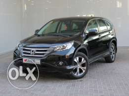 Honda CR-V EX Leather 5Dr 2.4L 4WD Auto 2014 black for sale