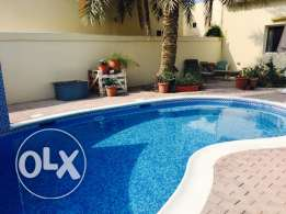 3 bedroom semi furnished compound with private pool