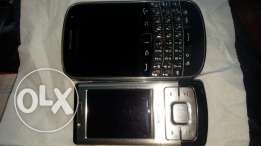 Nokia 6500 and BlackBerry 9900