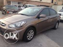 Hyundai Accent 1.6 model 2013 very clean car almost new