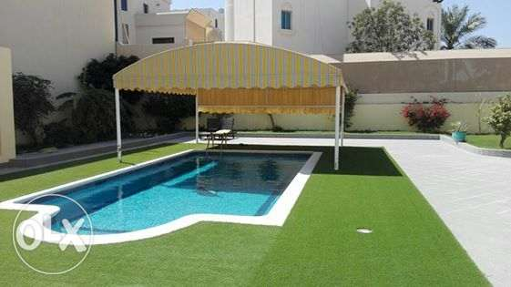 Villa for rent with private pool & easy access to Saudi causeway