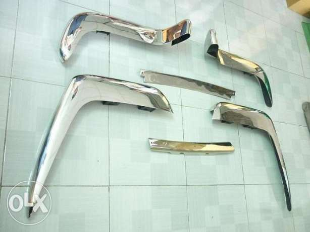 Volvo P1800 Cow Horn Stainless Steel Bumper