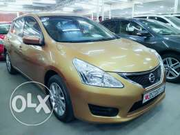 Nissan tiida SV pure driVe 2014 Model for sale cash and installment