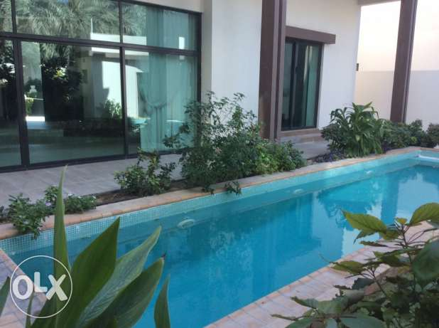 EXECUTIVE 4 bedroom semi furnished compound villa with private pool
