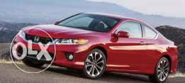 Wanted accord coupe model 2013 - 14 - 15