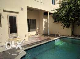 3 +1 Bedroom semi furnished villa with private pool - all inclusive