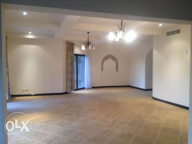 4 Bedroom semi furnished villa in small compound rent 1200