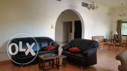 semi furnished private villa budaiya