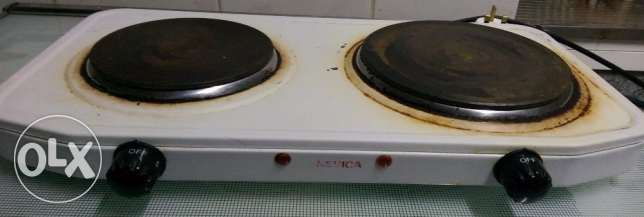 Electric Stove Two Burner