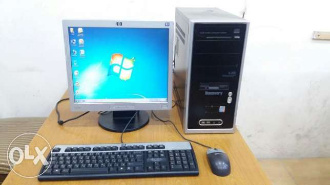 Computer Full Set Branded Pc/ Lcd Monitor / Keyboard, Mouse / Dvd Ram