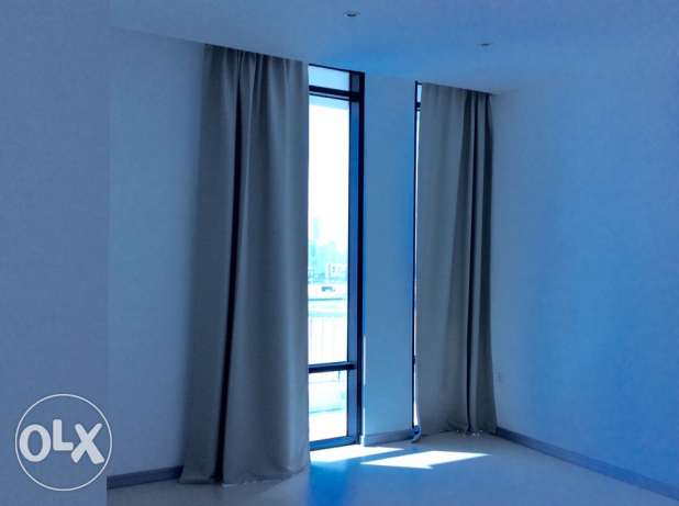 Sea view 2 bedroom semi furnished apartment السيف -  4