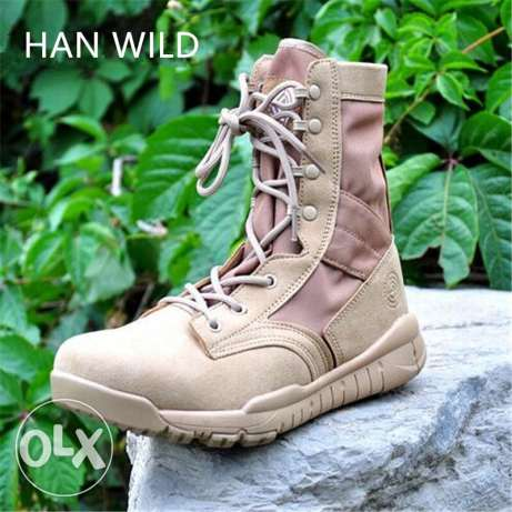 han wild military boot