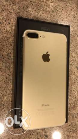 iPhone 7 Plus 128 GB Gold Color Mint Condition for Sale