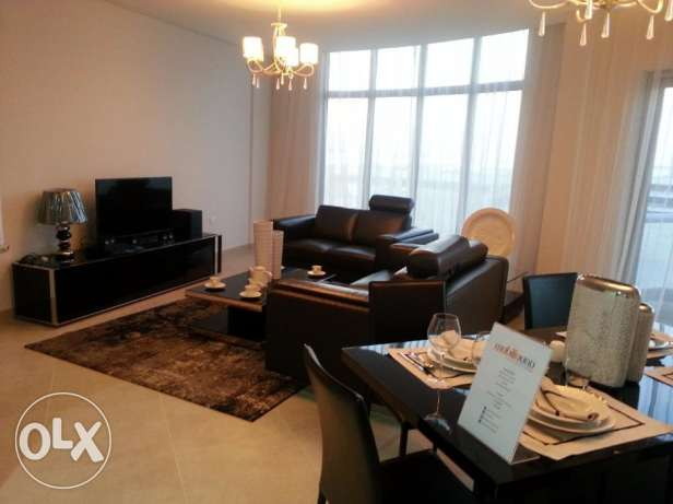 Luxurious 3 Bed room apartment with Brand new furniture lagoon views