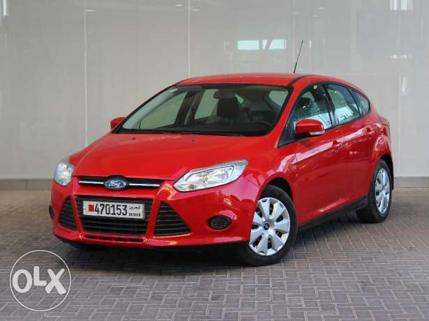 Ford FOCUS 2013 Red For Sale