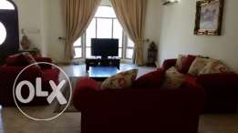 new hidd/ 4 bedroom villa for rent,semi furnished,inclusive