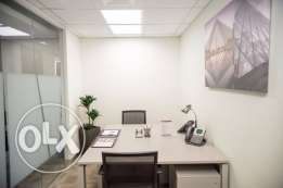 Great office space in Bahrain World Trade Center for teams of any siz