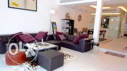 Luxury Fully Furnished Villa with Overwhelming Sea View in Amwaj